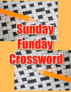 Sunday Funday Crossword: NY Times tuesday crossword puzzle books for adults, diversity training activity book, websters ne...