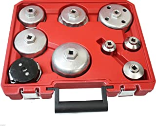 9PC Comprehensive Oil Wrench Valve Collet Installing Pick Up Tool