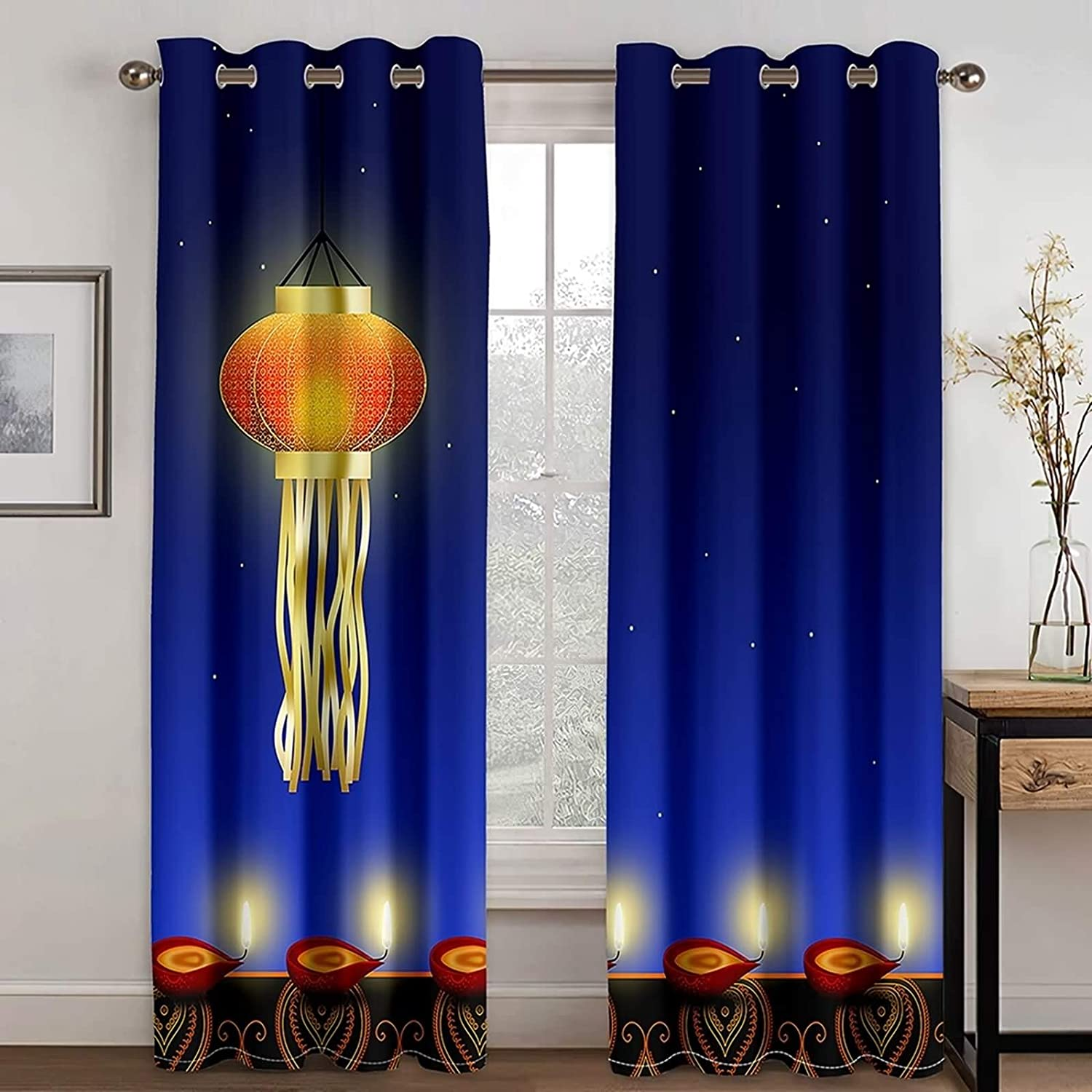 Indefinitely Daesar Curtains for Latest item Bedroom 2 Panels and Room Living K