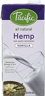 Pacific Foods Hemp Milk, Vanilla, 32oz