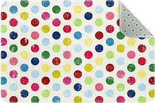 Doormat Custom Indoor Welcome Door Mat, Colorful Polka Dots Home Decorative Entry Rug Garden/Kitchen/Bedroom Mat Non-Slip ...