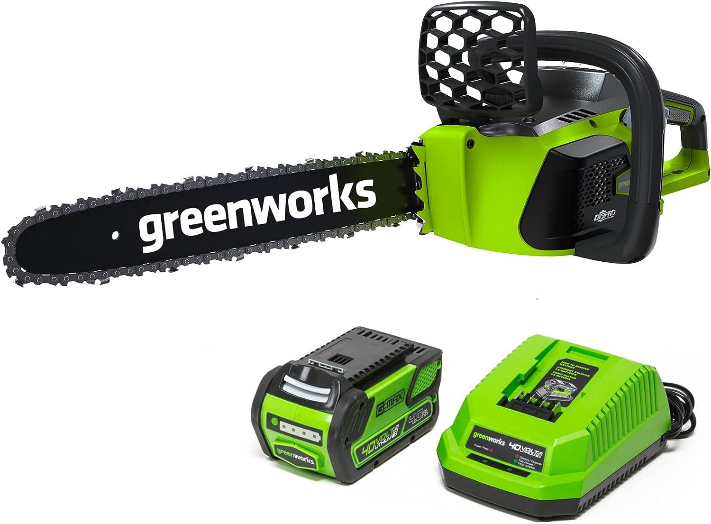 Greenworks G-MAX 40V 16-Inch Cordless Chainsaw