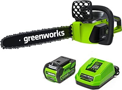 Greenworks G-MAX Cordless Chainsaw