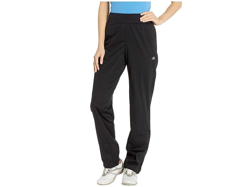 adidas Golf CLIMASTORM(r) Pants (Black 1) Women