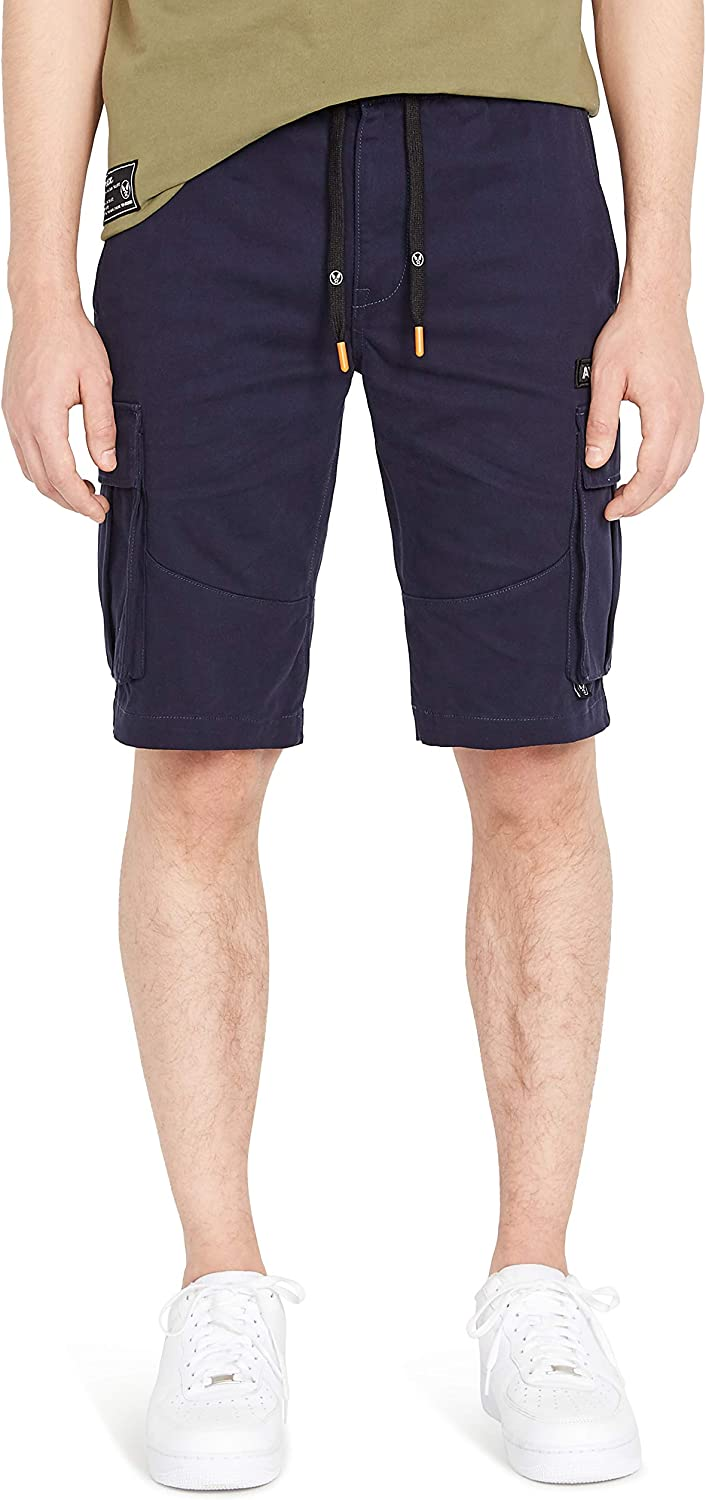 Avirex Selling and selling Men's Drawcord Cargo Shorts El Paso Mall