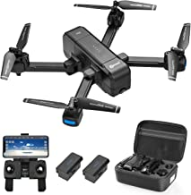 Contixo F22 Plus 4K GPS Drone with HD FPV Camera Live Video for Adults, Portable Selfie Quadcopter for Beginners with Auto Return Home, Custom Flight Path, Follow Me, Long Control Range,2 Batteries photo