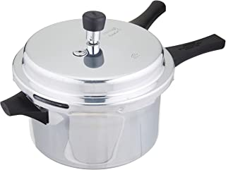 Prestige P+4L Popular Plus Induction Base Pressure Cooker, 4 Litres, Aluminum