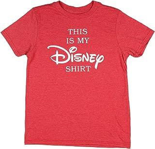 Camiseta de Disney para niño con texto en inglés «This is My Disney»