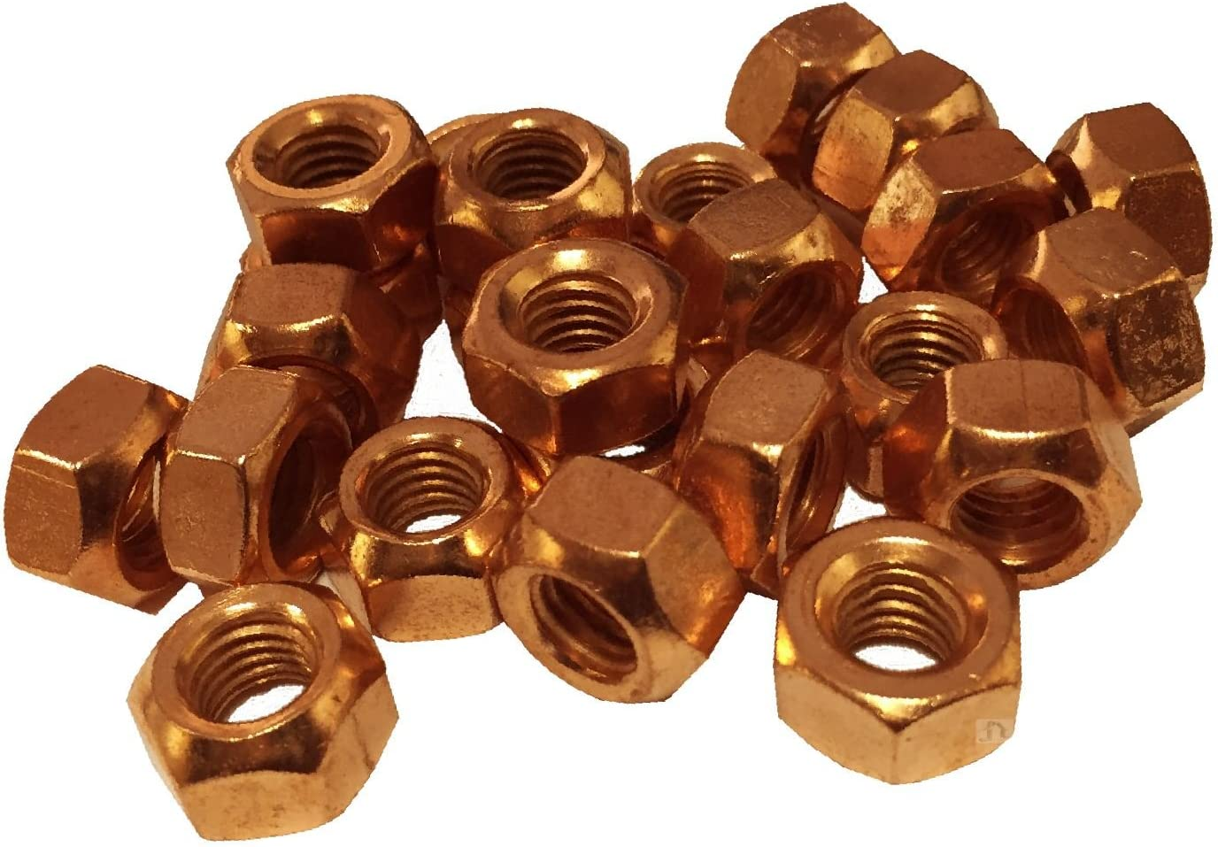 Smart home Product 8 x Copper Flashed M8 1.25 Nuts Pi 40% OFF Cheap Sale Manifold Exhaust