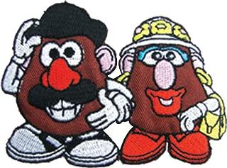 アイロンワッペン【Mr.PotatoHead】 ミスターポテトヘッド キャラクターワッペン