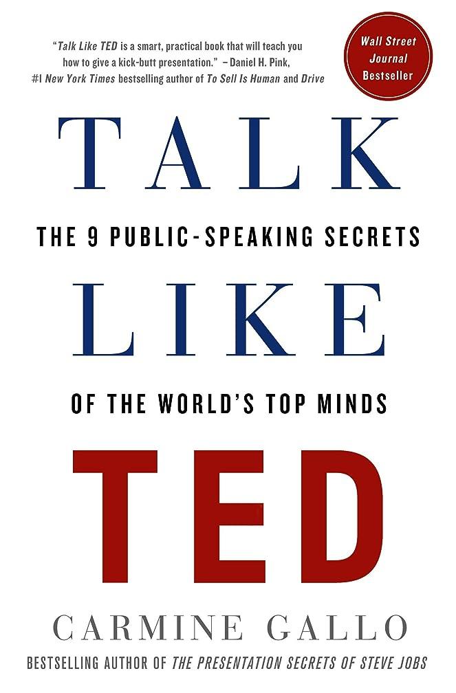 憂慮すべき敏感なビバTalk Like TED: The 9 Public-Speaking Secrets of the World's Top Minds (English Edition)
