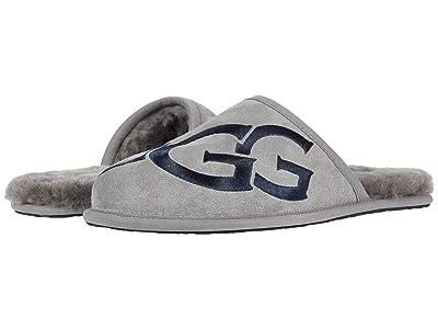 UGG Scuff Logo (Metal/Dark Sapphire) Men