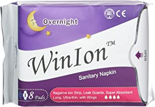 Winalite Qiray Anion Sanitary Napkin (Day, Overnight, Pantiliner) for Women Health