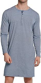 Schiesser Men's Nachthemd Lang Pajama Top