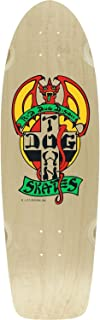 Dogtown Og Classic Red Dog Skateboard Deck -9x30 Natural/Red/Yellow DECK ONLY