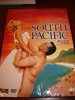 Rodgers & Hammersteins South Pacific (50th Anniversary Edition) / Directed by Joshua Logan / Starred by Rossamo Brazzi and Mitzi Gaynor / 1959 Oscar Best Soud Effect / A Cockeyed Optimist / Younger than Springtime / Some Enchanted Evening / 20TH CENTURY FOX / PAL / Region Free DVD / Audio: English, English DTS and French / Subtitles: English, Simp.Chinese, Trad. Chinese, French, Korean, Japanese, Spanish and Portugues