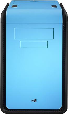 Aerocool DS Dead Silence Caja de computadora, Cubo, PC, SGCC, 1x 200 mm, 1x 120 mm, Color Negro, Azul