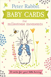 Peter Rabbit Baby Cards. For Milestone Moments (Beatrix Potter Gift Book)