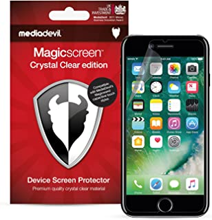 MediaDevil Apple iPhone 8 Plus/iPhone 7 Plus Screen Protector: Magicscreen Crystal Clear (Invisible) Edition - (2 x Protectors)
