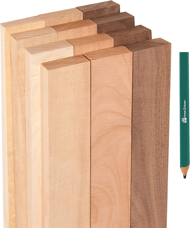 Forest 2 Jacksonville Mall Home Hardwood Basics Box of Walnut Variety shopping Pack - Cher