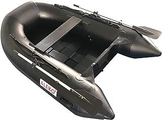 قایق بادی ALEKO با قایق ماهیگیری ورزشی قایق قایق بادبانی 3 Keel Air Chambers (250)