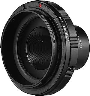 حلقة محول، 1.25-T2-EOS إكسسوار التصوير الفوتوغرافي متوافق مع كاميرا Ca-non EOS 1.25 بوصة تلسكوب T2 للتصوير الفوتوغرافي المشهد