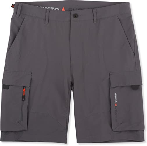 Musto Deck UV Fast Dry courte 2017 - Charcoal