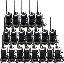 Retevis RT7 Walkie Talkies Adults Long Range 2 Way Radios UHF 16CH VOX FM Flashlight Emergency Business Two-Way Radios with Earpiece(20 Pack)