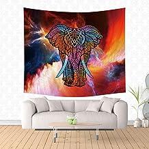 jtxqe Mejor Venta de impresión Digital tapicería casera Pared Manta Elefante Acuarela Animal Nuevo 11 150 * 200