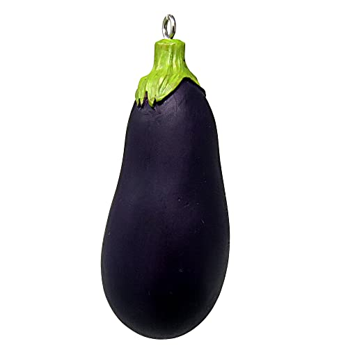 Cornaments Brand EGGPLANT Vegetable Decoration MAKES A PERFECT GIFT! Use as an Ornament, Inspiration