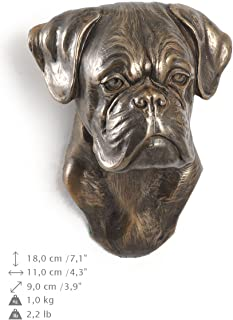 Boxer (Second), Dog Figure Hanging on the Wall, Limited Edition, Artdog