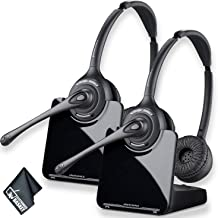 $374 » Plantronics CS520 Wireless Headset System Bundle - 2 Pack