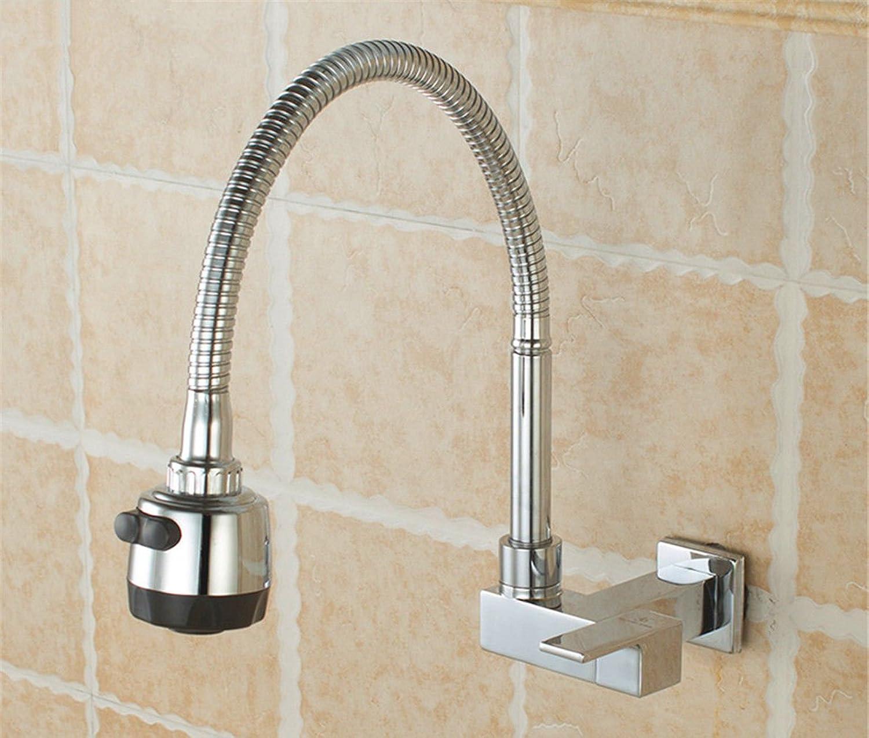 Gyps Faucet Waschtisch-Einhebelmischer Waschtischarmatur BadarmaturDie Wand montiert Küche Wasserhahn Ein Kaltes Gericht Waschbecken und der Pool und Das Wasser im Pool Düse schwenken voll Kupfer