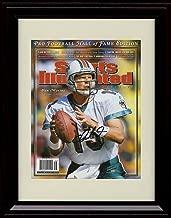 Framed Dan Marino Sports Illustrated HoF Commemorative Print
