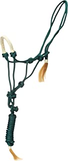 Tough 1 Rawhide Noseband Rope Halter with Lead