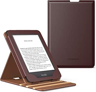 MoKo Case Fits All-NewKindle(10thGeneration-2019ReleaseOnly), Vertical Flip Protective Cover with Auto Wake/Sleep, WillNotFitKindlePaperwhite10thGeneration2018 - Coffee