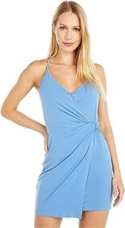 BCBGeneration Women's Cocktail Twist Wrap Surplice Knit Dress
