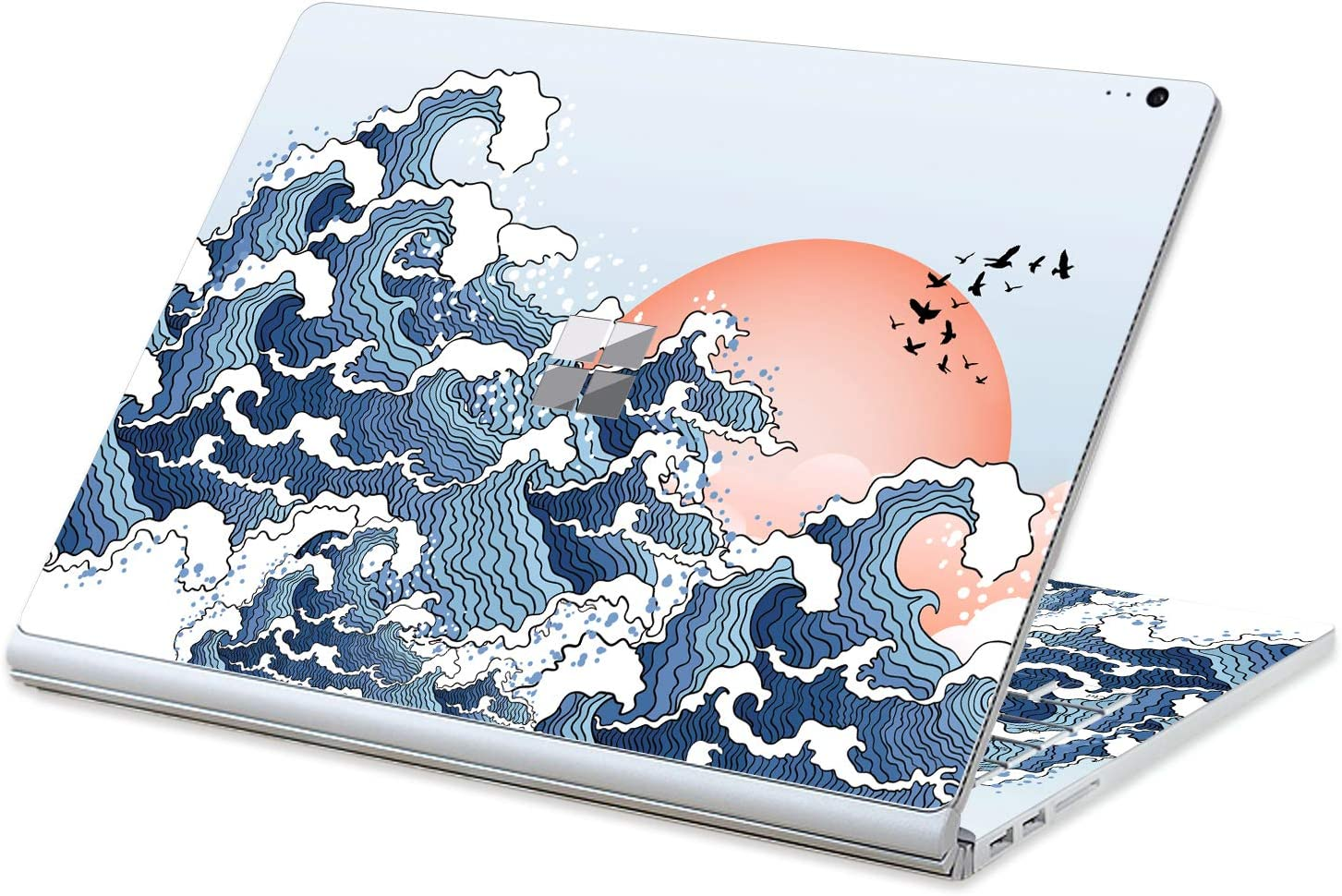 MasiBloom Laptop Surface Skin Decal Over item handling Selling rankings ☆ for inch Sticker 13.5 Micros