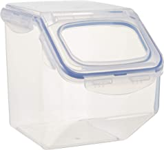 Lock & Lock Classic Airtight Rice Case, 5L, (HPL700) Flip top - 21 cup - Great for Beans