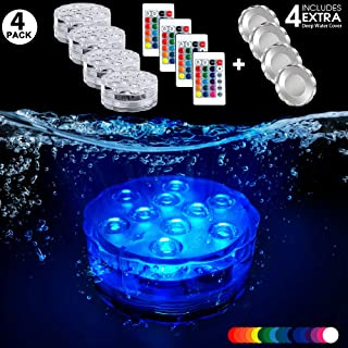 Spa Light with 30 Feet Cord for Wet Niche Poolexa Small LED Color Changeable Underwater Pool