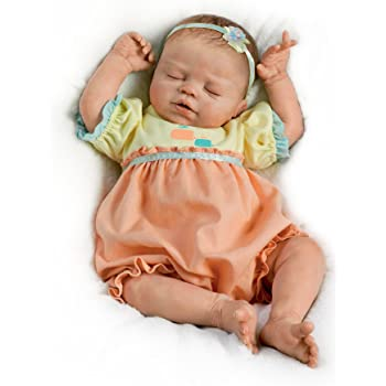 Ashton Drake 'Baby of Mine' - Poseable Lifelike Baby Doll by Violet Parker - Handcrafted RealTouch Vinyl Skin