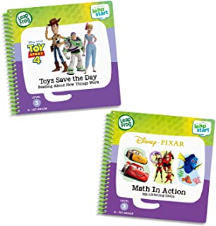 LeapFrog LeapStart 2 Book Combo Pack: Math in Action and Toys Save the Day