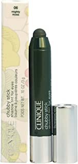 Clinique Chubby Stick Shadow Tint for Eyes, 06 Mighty Moss, 0.1 Ounce