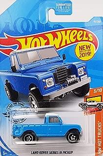 Hot Wheels Land Rover Series III Pickup 111/250, Blue