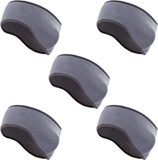 SOTOGO 5 Pack Ear Warmer Headband Ear Covers Sport Running Outdoor Biking Ear Warmers Winter Headbands Fleece Ear Band for...