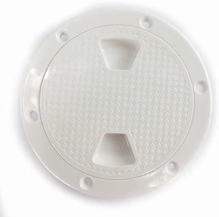 SEAFLO 4 Boat Round Non Slip Inspection Hatch w/ Detachable Cover