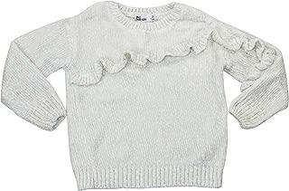 Epic Threads Toddler Girls Ruffle Trim Pullover Sweater