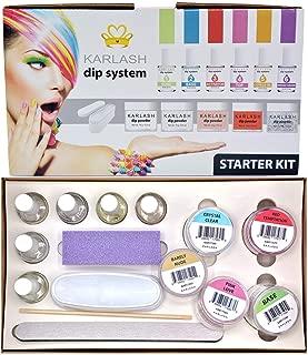 Karlash Dip System Dipping Powder Starter Kit - Color Kit
