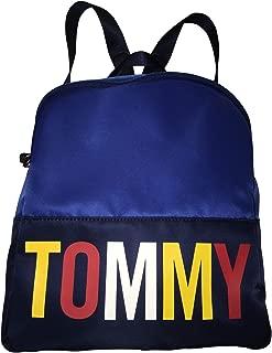 Tommy Hilfiger Tommy Logo Navy Blue Nylon Backpack