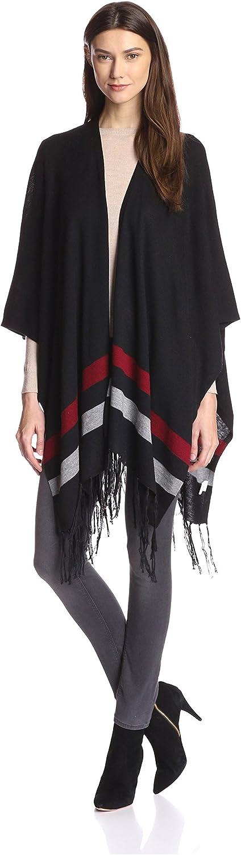 Zero Degrees Celsius Women's Striped Poncho